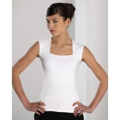 990F Ladies' Sleeveless Strech Top