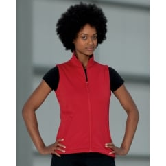 R041F Ladies' Smart Softshell Gilet