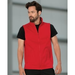 R041M Men's Smart Softshell Gilet