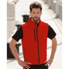 R141M Men's Soft Shell Gilet