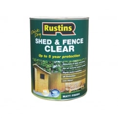 Quick Dry Shed and Fence Clear Protector 5 Litre