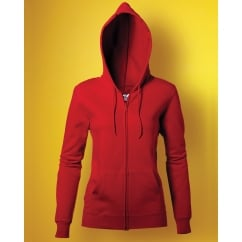 SG SG29F Ladies' Full Zip Hooded Sweatshirt