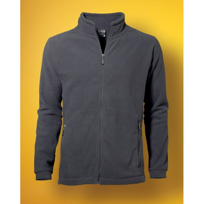 SG 80 Men's Full Zip Fleece Grey - Size: M *One Size Only - Outlet Store*