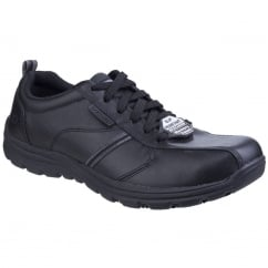 424dfef8ed5f5 Hobbes - Frat Slip Resistant Lace up Work Shoe · Skechers Safety Shoes  Hobbes ...