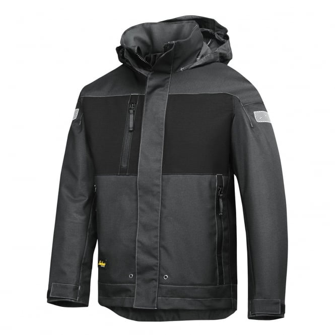 Snickers 1178 Waterproof Winter Jacket: Grey/Black Size: S *One Size Only - Outlet Store*