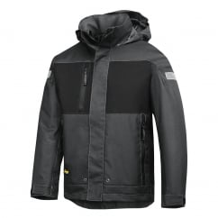1178 Waterproof Winter Jacket: Grey/Black Size: S *One Size Only - Outlet Store*