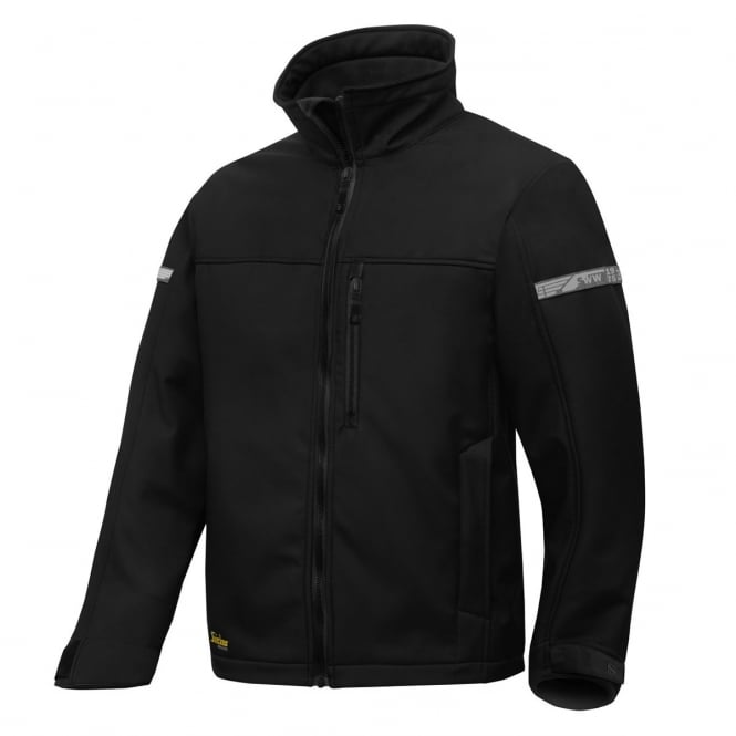 Snickers 1200 AllroundWork, Softshell Jacket Black - Size: XL *One Size Only - Outlet Store*