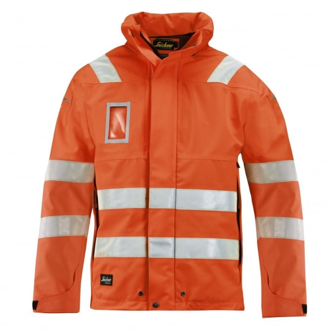 Snickers 1683 High-Vis GORE-TEX Shell Jacket, Class 3