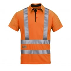 2743 High-Vis Active Vaporize System Polo Shirt, Class 2/3