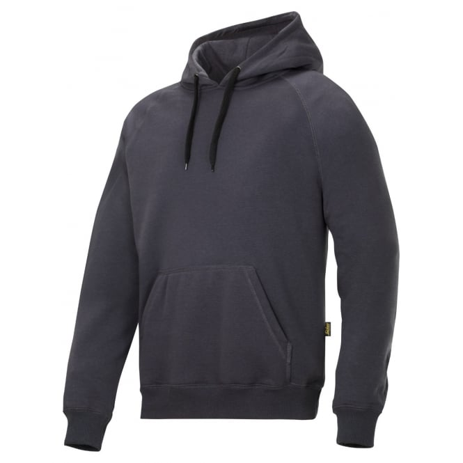 Snickers 2800 Hooded Sweatshirt Reinforced Elbows Long Sleeve Hoodie: Steel Grey Size: XL *One Size Only - Outlet Store*