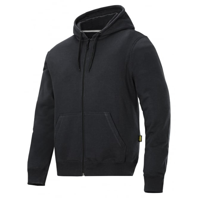 Snickers 2801 Zip Up Hooded Sweatshirt Reinforced Elbows Long Sleeve