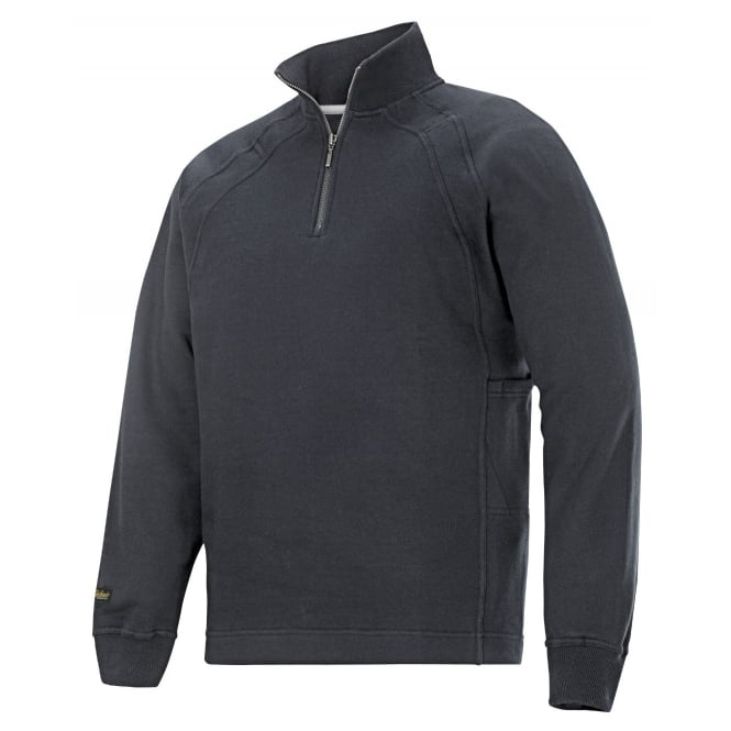 Snickers 2813 Zip Up Sweatshirt Multi Pocket Classic Long Sleeve Top: Steel Grey Size: L *One Size Only - Outlet Store*
