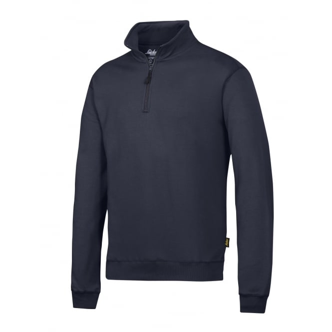 Snickers 2818 1/2Zip Sweatshirt: Navy Size: L *One Size Only - Outlet Store*