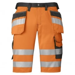 3033 High-Vis Holster Pocket Shorts, Class 1