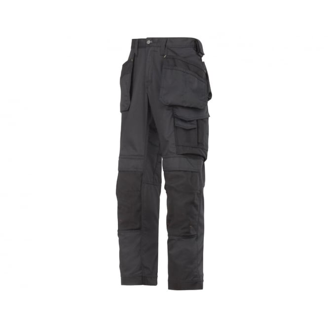 Snickers 3211 Cooltwill Trousers Black, Inside Leg: 35