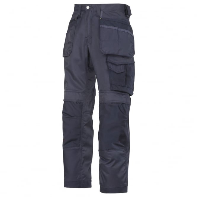 Snickers 3212 DuraTwill Craftsmen Holster Pocket Trousers Navy Waist: 38