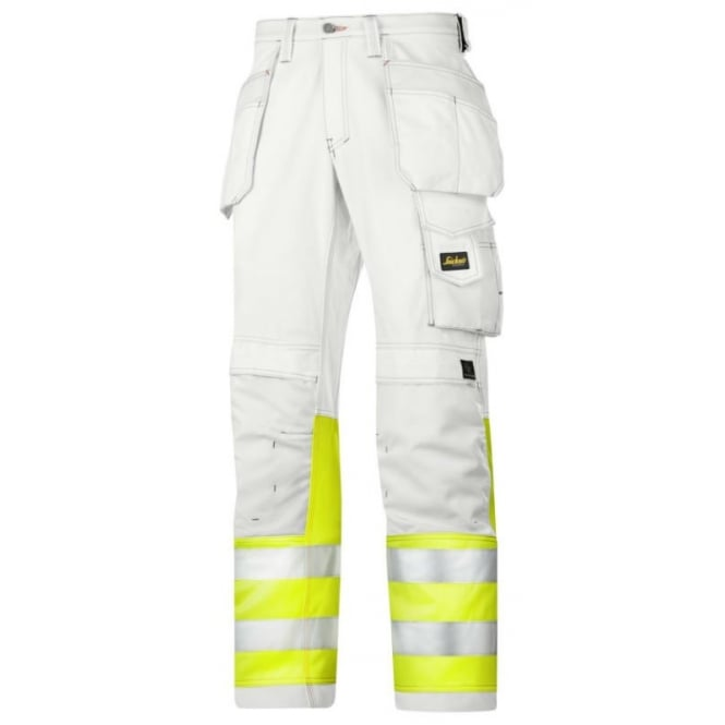 Snickers 3234 Painter Hi Visibility Trousers C1