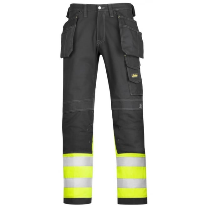 Snickers 3235 Hi Visibility HP Trousers C1