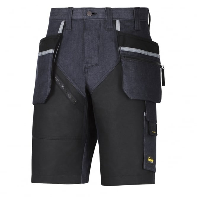 Snickers 6104 RuffWork Denim, Work Shorts+ Holster Pockets