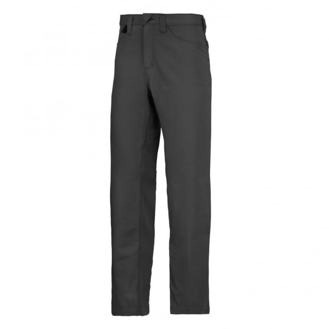 Snickers 6400 Service Chinos: Black W33