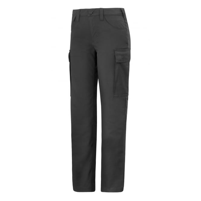 Snickers 6700 Women's Trousers Black, Inside Leg: 29