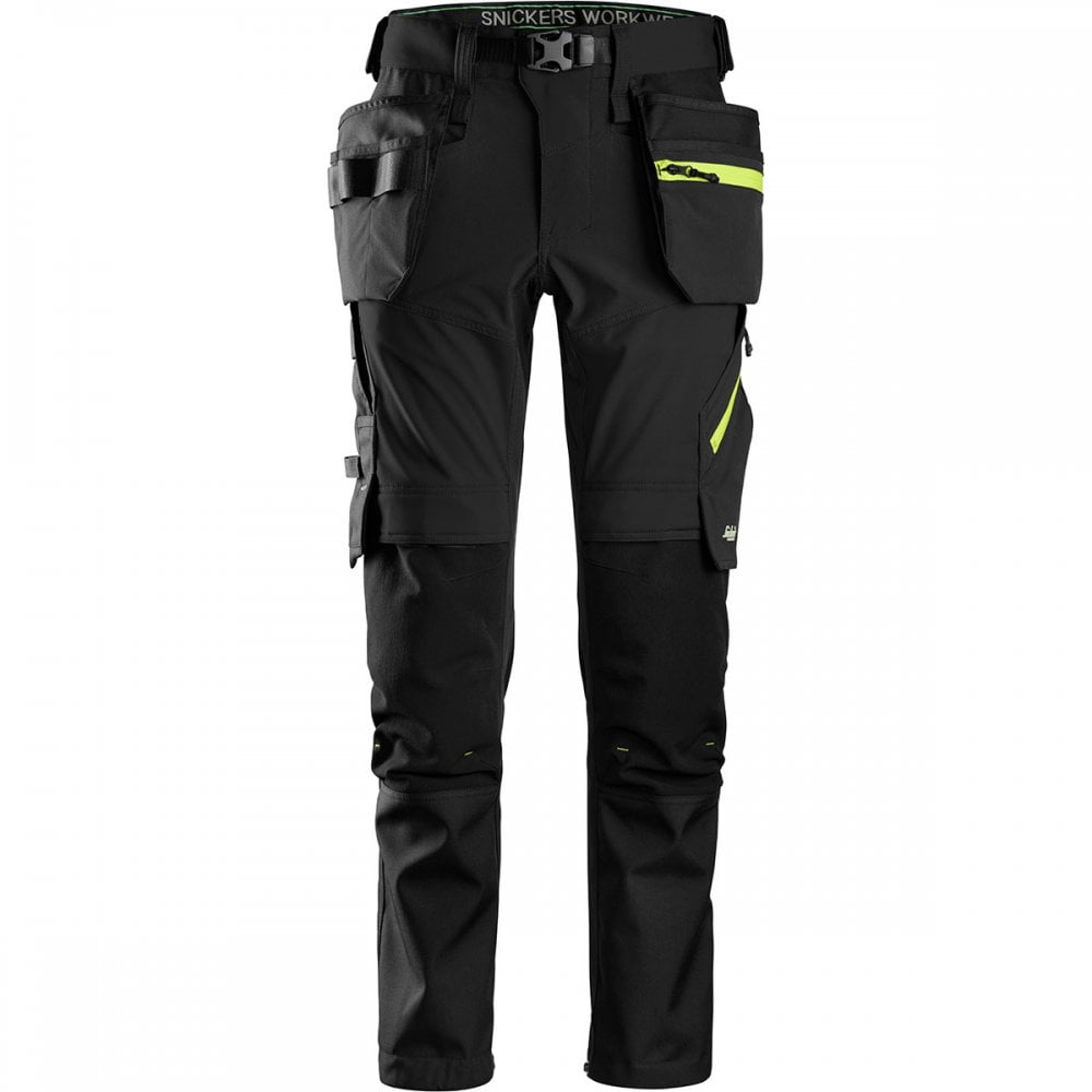 8cfd8e65124 Snickers 6940 FlexiWork Stretch Trousers+ Holster Pockets - Clothing ...
