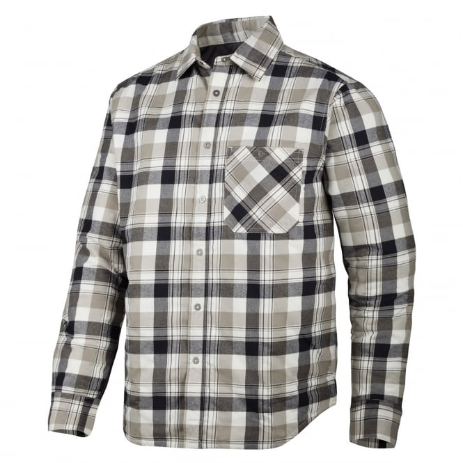 Snickers 8501 RuffWork, Padded Flannel Checked Long Sleeve Shirt