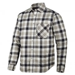 8501 RuffWork, Padded Flannel Checked Long Sleeve Shirt