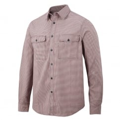 8507 AllroundWork, Comfort Checked Long Sleeve Shirt