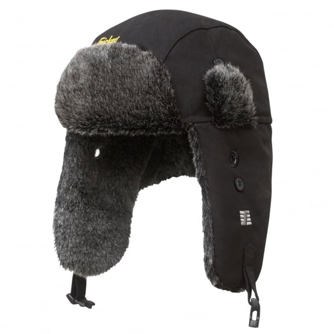 Snickers 9007 RuffWork, Heater Hat Black - Size: XL *One Size Only - Outlet Store*