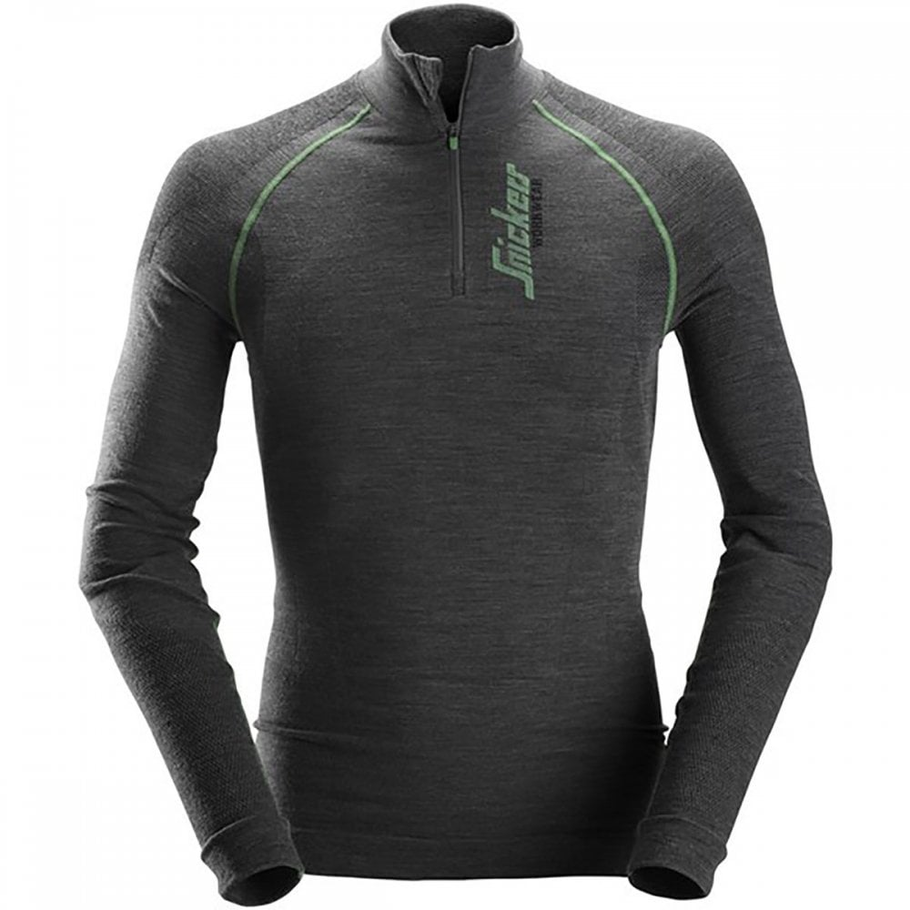 3003a2e820f Snickers FlexiWork Seamless Wool LS HZ Shirt - Clothing from M.I. Supplies  Limited UK