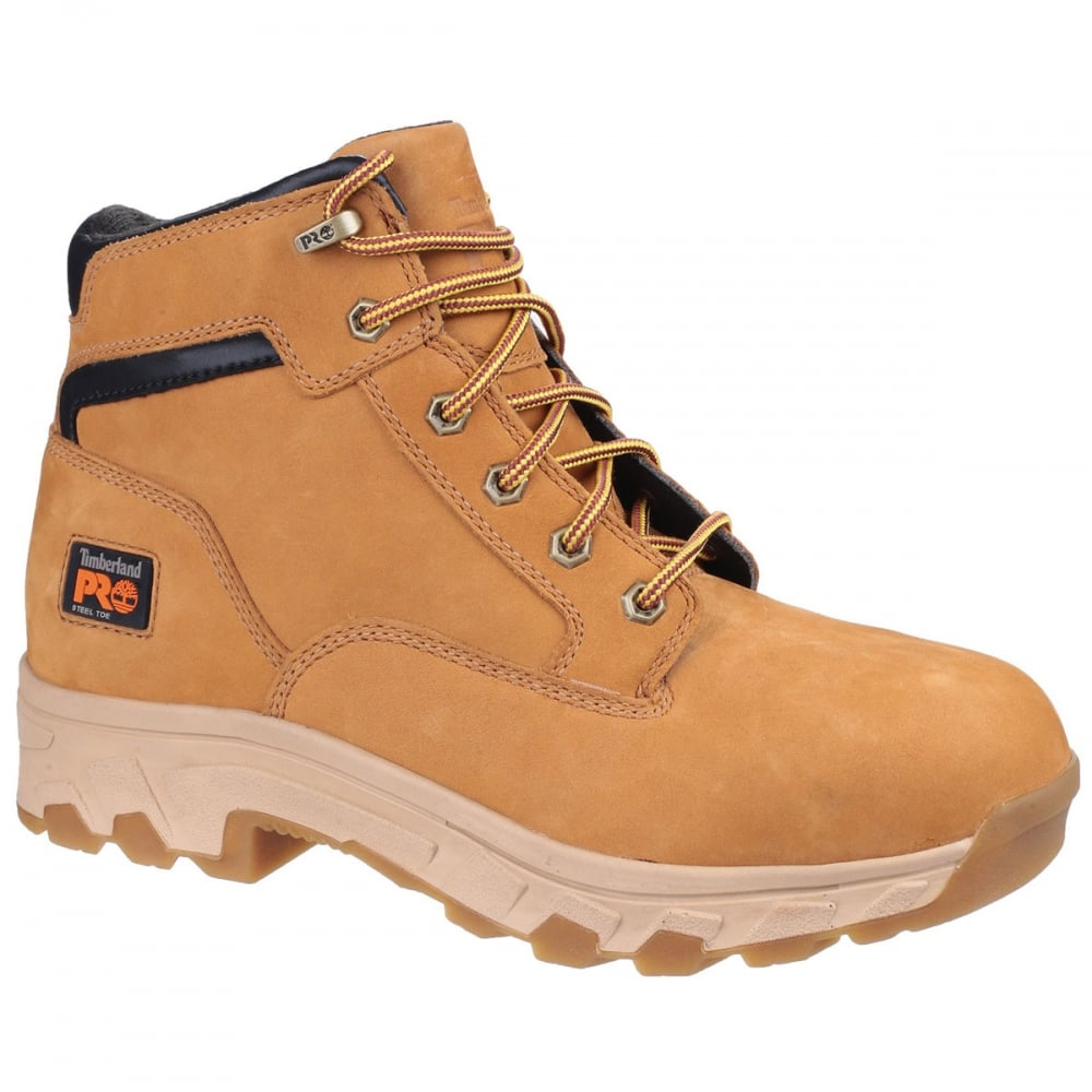 535157199e36 Timberland Pro Safety Workstead Lace Wheat Boot - Footwear from M.I. ...