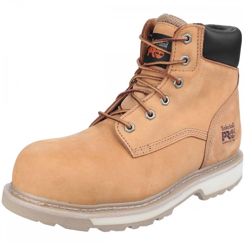 A veces a veces Interacción Anunciante  Timberland Pro Traditional Lace-up Safety Boot - Footwear from MI Supplies  Limited UK