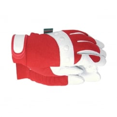 TGL104S Comfort Fit Red Gloves Ladies - Small