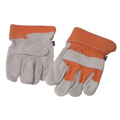 TGL409 Mens Leather Palm Gloves
