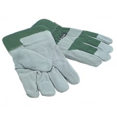 TGL412 Mens Fleece Lined Leather Palm Gloves