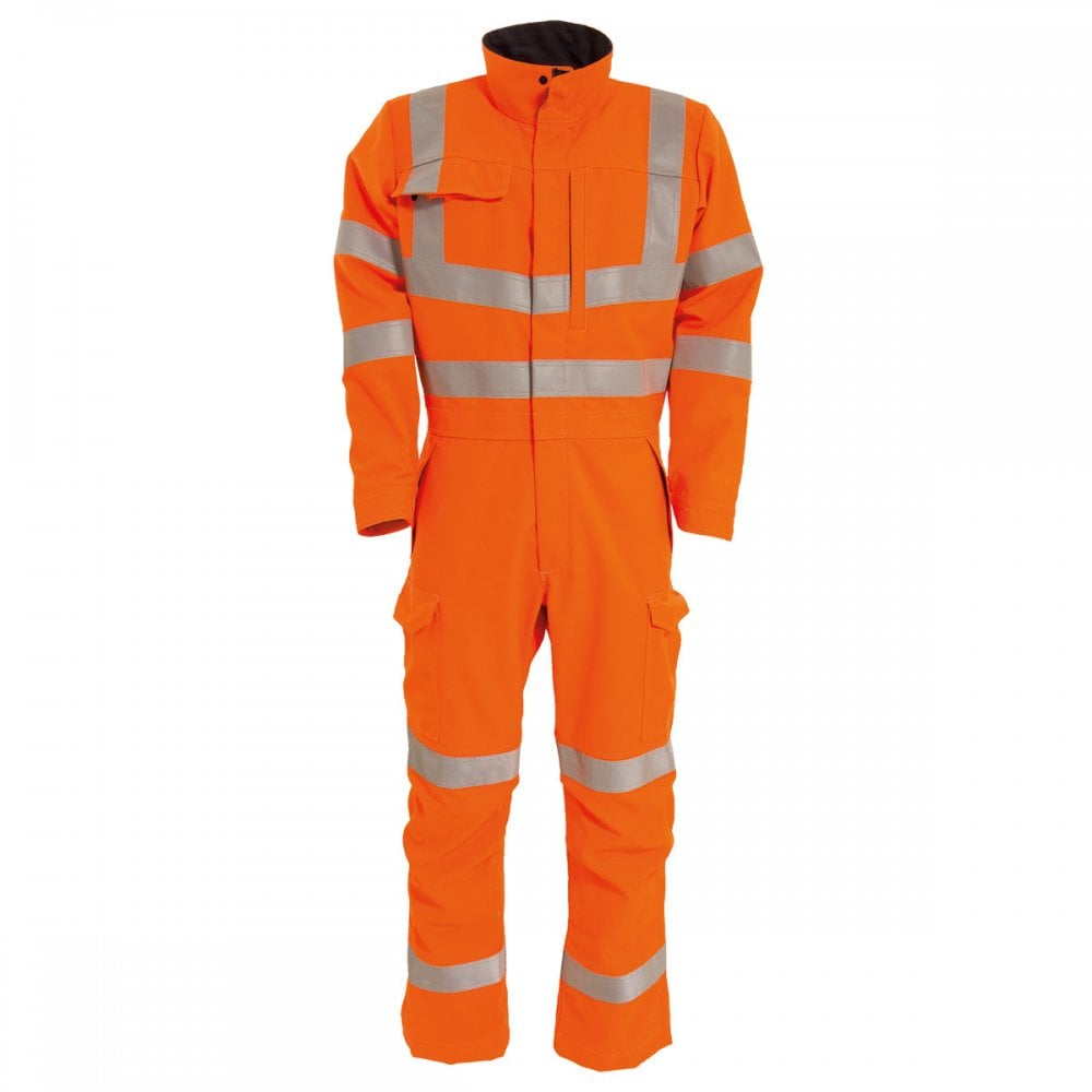 fcbcfed8 Tranemo Advanced Workwear Edge GO/RT Flame Retardant Boilersuit