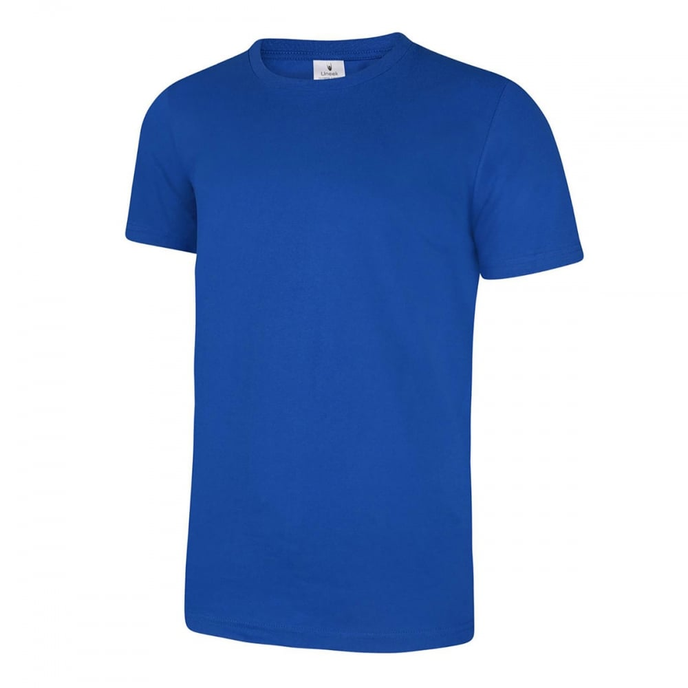 Uneek UC320 Mens Olympic T Shirt Casual Work Wear Crew Neck 100/% Cotton Tee Top
