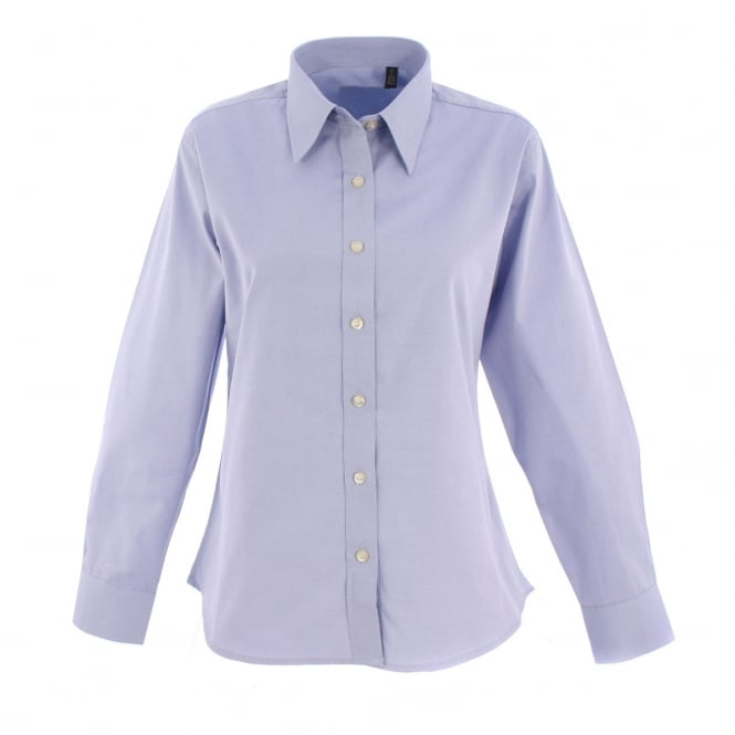 Uneek UC703 Ladies Pinpoint Oxford Full Sleeve Shirt