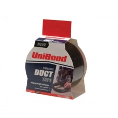 Duct Tape Black 50mm x 25m