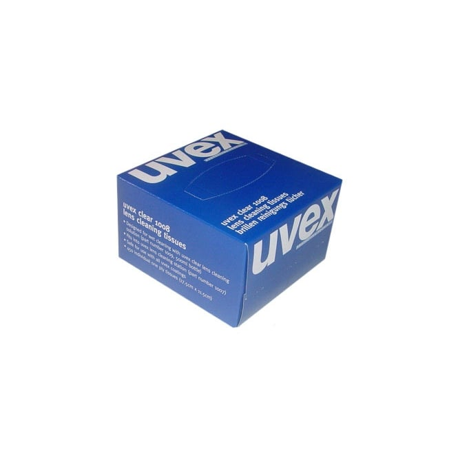 Uvex Eyewear Cleaning Tissues 450/Box