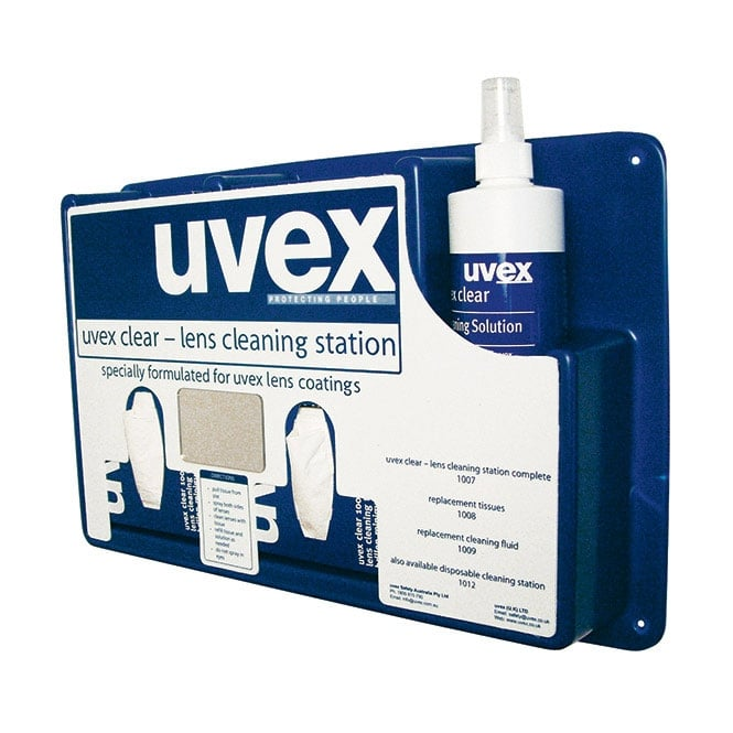 Uvex Eyewear Complete Cleaning Station