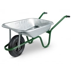 85L Heavy-Duty Galvanised Barrows Min Quantity of 15 Mixed Only