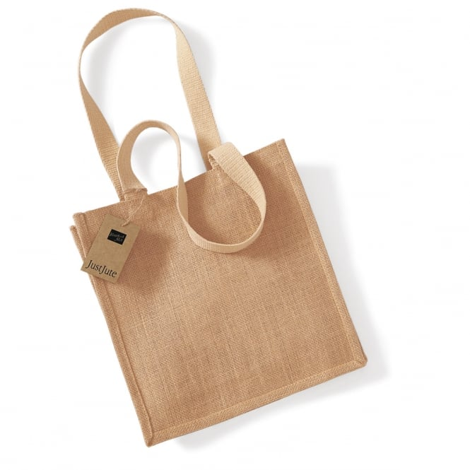 Westford Mill W406 Jute Compact Tote