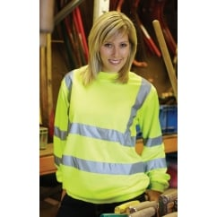 HVJ510 Hi-Vis Heavyweight Sweatshirt