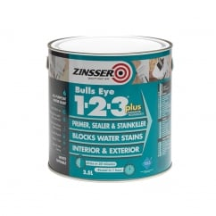 123 Bulls Eye Plus Primer / Sealer Paint 2.5 Litre