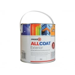 ALLCOAT® Exterior White Primer / Finish 2.5 Litre